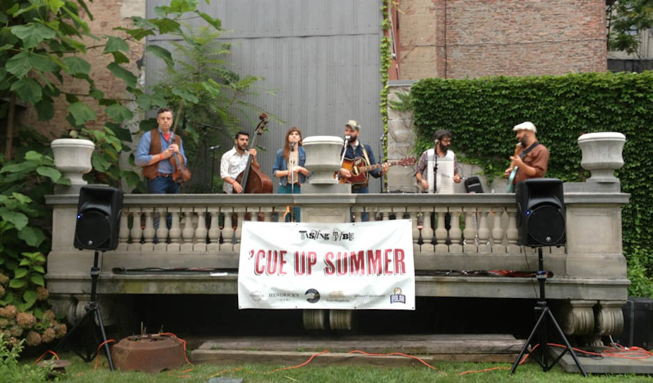 the difibulators, a bluegrass band from nyc