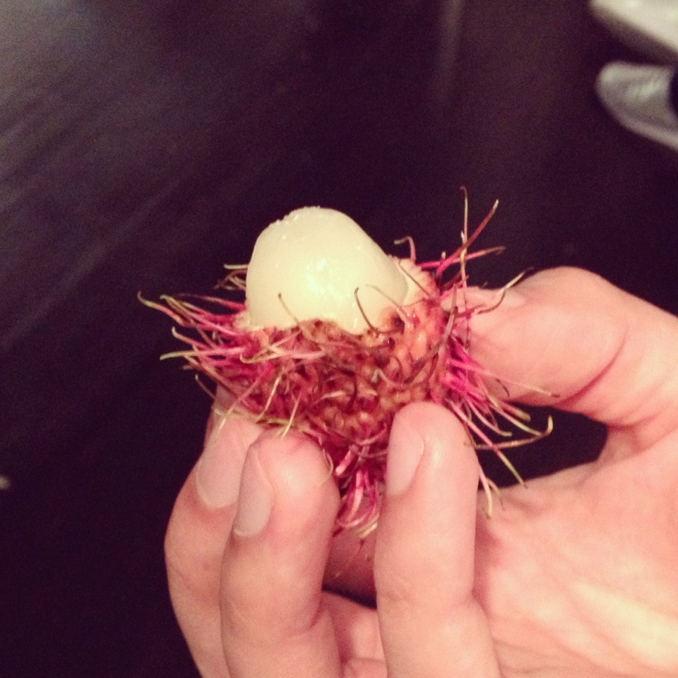 rambutan muppet fruit asian
