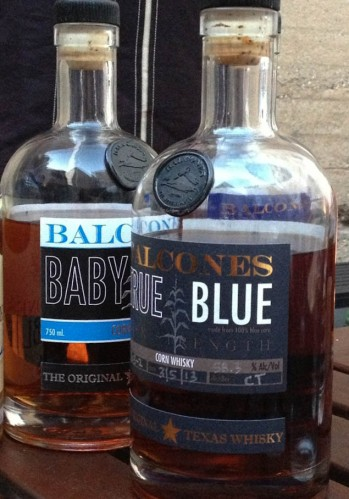 Balcones Baby Blue True Blue Texas Whisky Whiskey Bottles