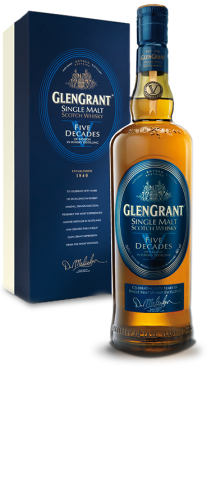 Glen Grant V Decades - Image courtesy of Exposure