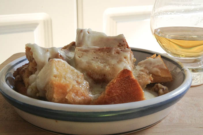 bread pudding whisky scotch single malt recipe Glen Grant