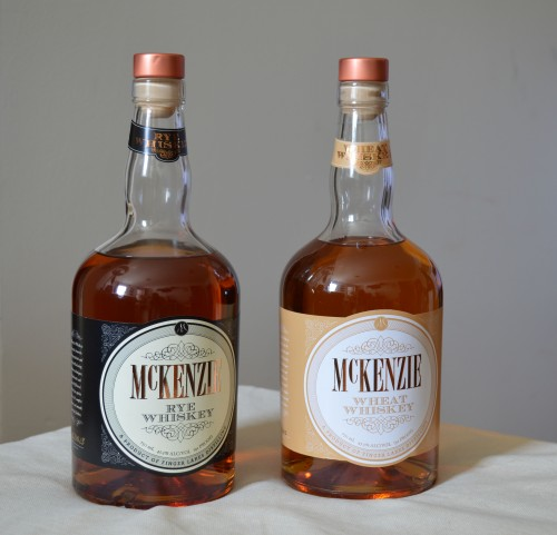 McKenzie Wheat Whiskey Rye Whisky Finger Lakes Distilling microdistillery