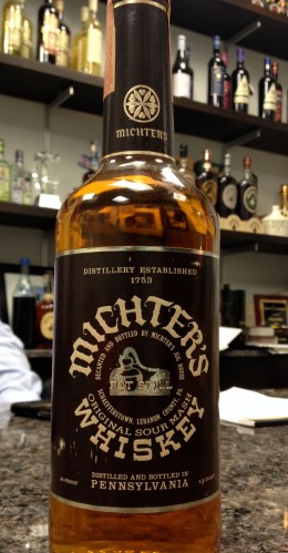 whiskey whisky Michter's sour mash original old 1970s