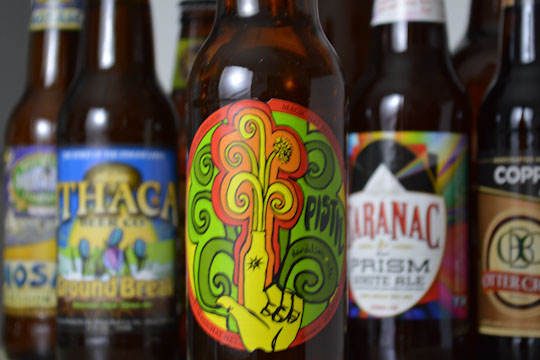 Magic Hat brewery pistil spring beer psychedelic label