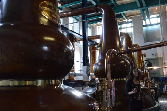 Deanston Distillery stills stillhouse whisky