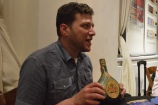 Joshua Hatton of ImpEx pulled out this old Armagnac...