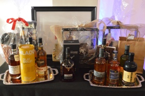 Just a few of the auction items